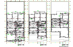 Beam plan detail dwg file
