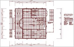 Beam schedule plan details dwg files
