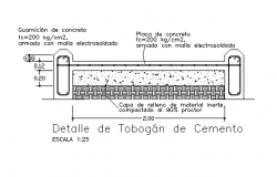 Beam section reinforcement detail dwg file