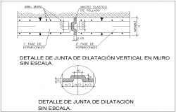 Beam section view dwg file