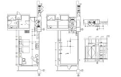 Bedroom Design AutoCAD Drawing plan