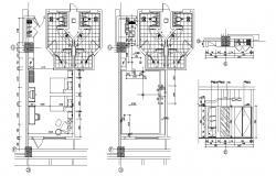 Bedroom Design Furniture Plan CAD File