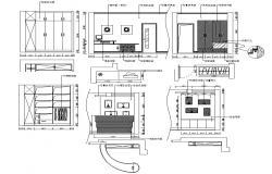 Bedroom Elevation DWG File