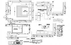 Bedroom Interior Design AutoCAD File