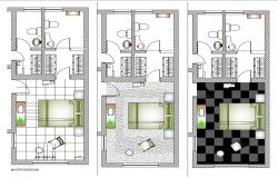 Bedroom Layout CAD File