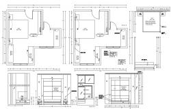 Bedroom Layout Plan AutoCAD Drawing