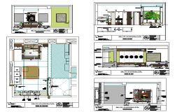 Bedroom design drawing of House design
