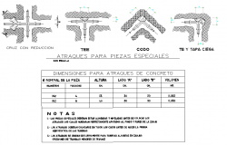 Berths for special pieces plan autocad file