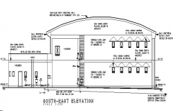 Big building elevation details