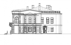 Big bungalow elevation detail