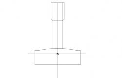Block view of tom graph dwg file