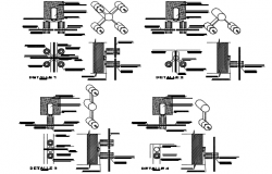 Bolt detail dwg file