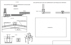 Bolt not section detail dwg file