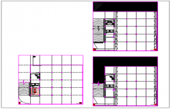 Bottom to top detail house plan detail dwg file