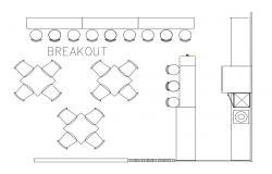 Breakout Cafe Plan