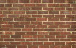 Brick construction elevation detail