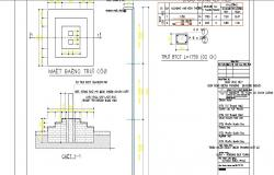 Brick wall elevation construction details dwg file