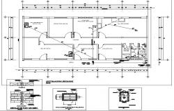Brick wall plan detail dwg file