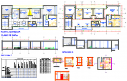 Bthroom and kitchen detail cad files