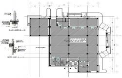 Building Column plan DWG File Download