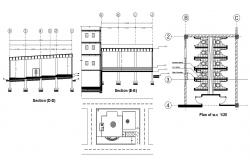 Building Design Free CAD drawing download.