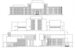 Building Elevation Design CAD Plan