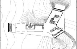 Building Layout plan dwg file