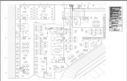 Building Layout of wireless access point detail.