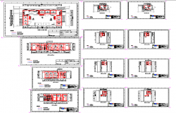 Building Project detail dwg file