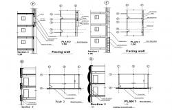 Building Section Architecture Drawing Download