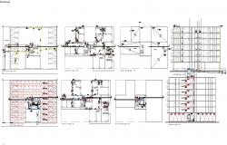 Building constructions systems detail cad files