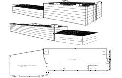 Building design AutoCAD 3d Download