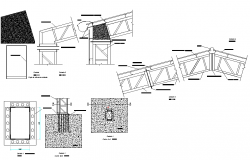 Building material plan detail dwg file