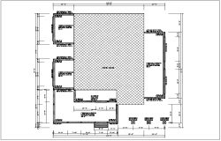 Building plan view detail dwg file