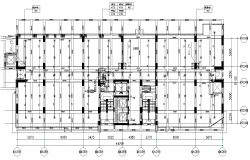 Building plumbing system detail plan layout file