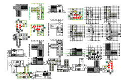 Building project dwg file