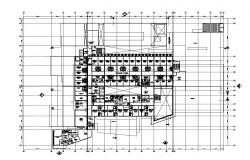 Building structure detail CAD structural block 2d view layout file in dwg format