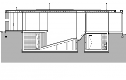 Bungalow Architecture Design dwg file