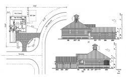 Bungalow Design Project AutoCAD File