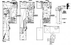 Bungalow Electrical Wiring Plan CAD drawing