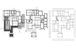 Bungalow Floor Plans CAD File