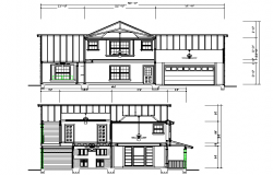 Bungalows Front side elevation design