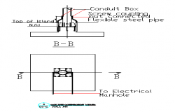 COLUMN CONNECTION DETAILS design drawing