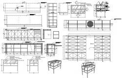 Cabinet Design DWG File