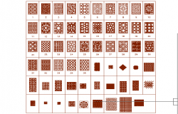 Cad blocks of islamic art