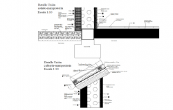 Cad files of Footing and wall cover detail