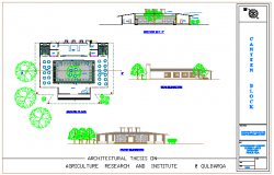 Canteen design drawing