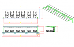 Car park plan detail dwg.