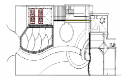 Car parking and top view plan