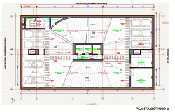 Car parking working plan detail dwg file